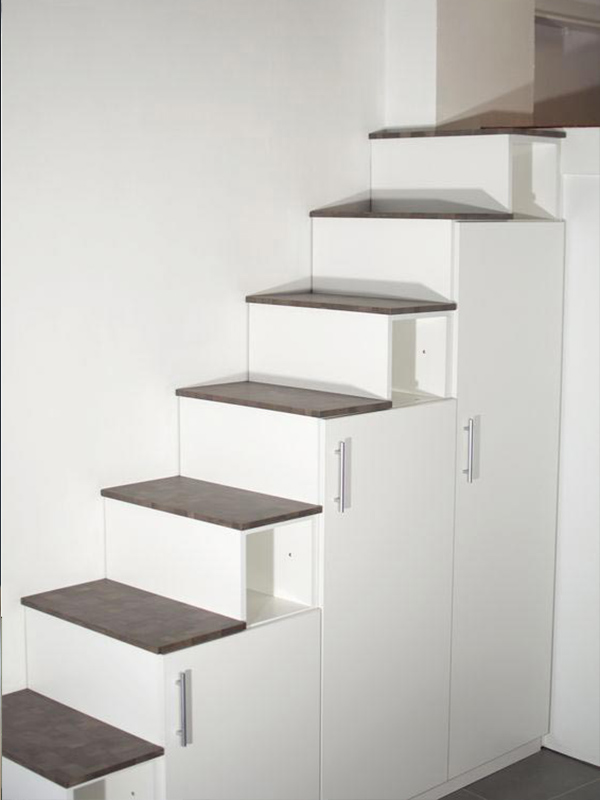 meuble escalier meuble bois