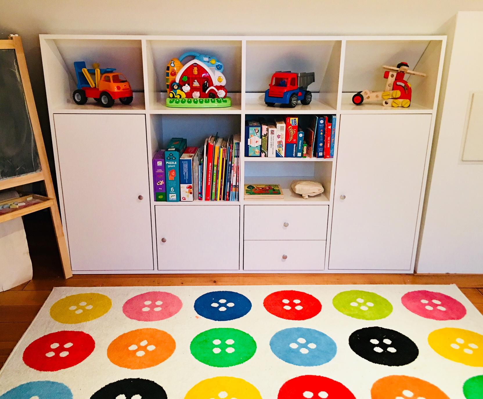 meuble sous pente pour enfant