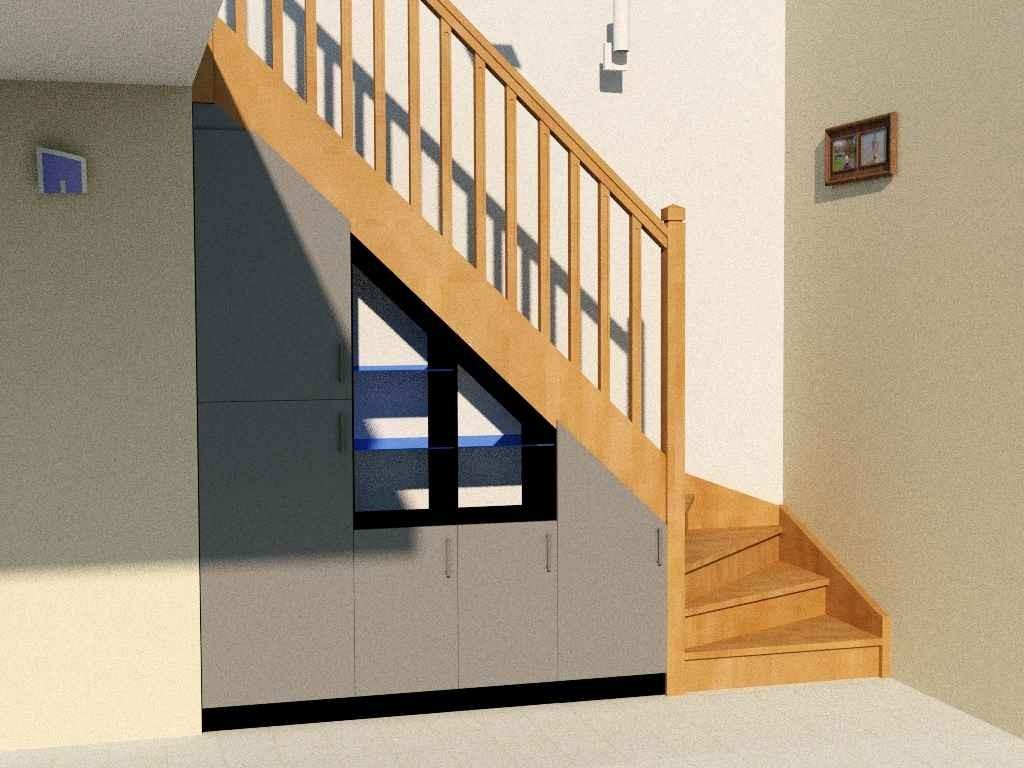 Quel Aménagement Sous Mon Escalier Quart Tournant Partie