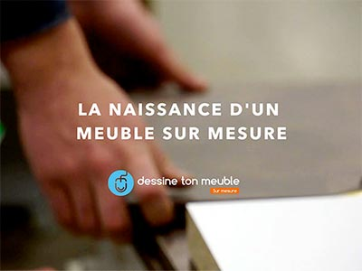 video meuble mesure