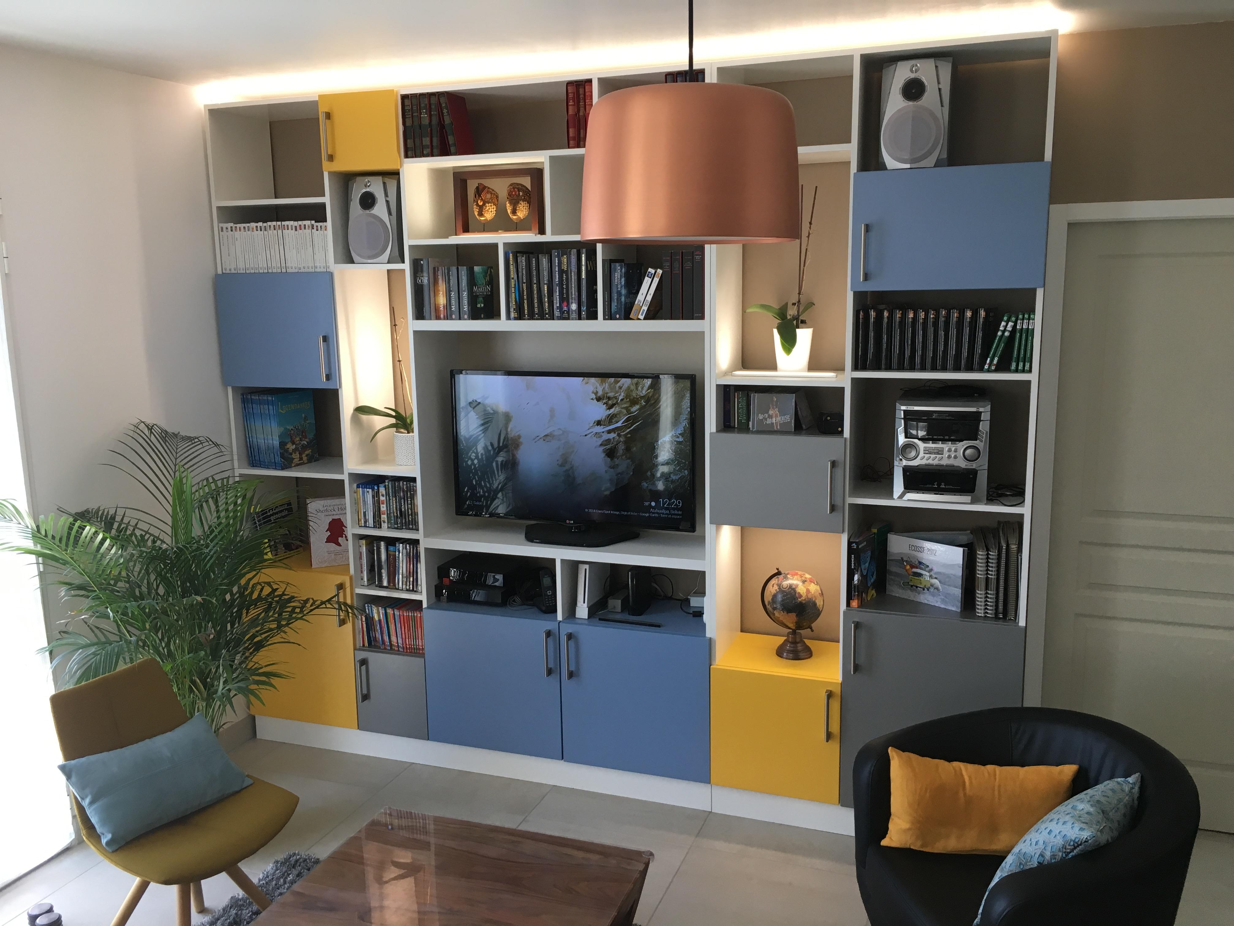 meuble de décoration sur mesure