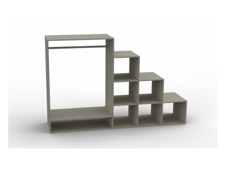 meuble mesure penderie 3D