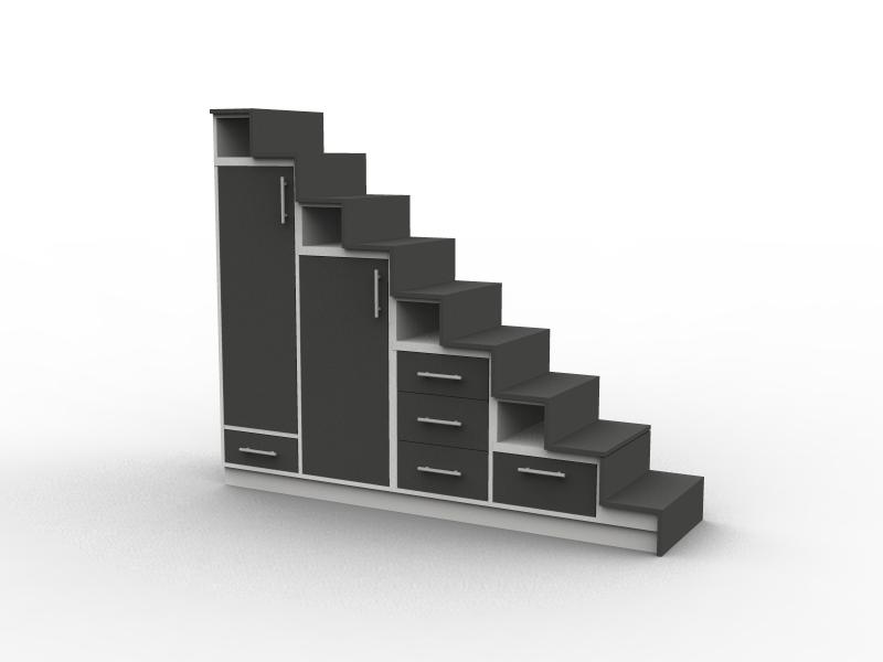 Meuble escalier