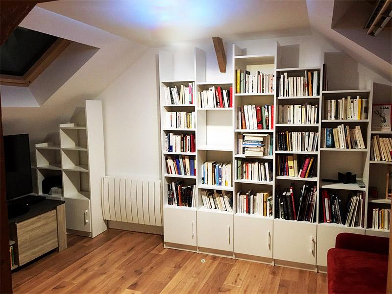 aménager meuble sous combles
