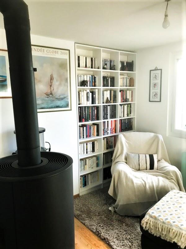 meuble bibliothèque encastré sur mesure