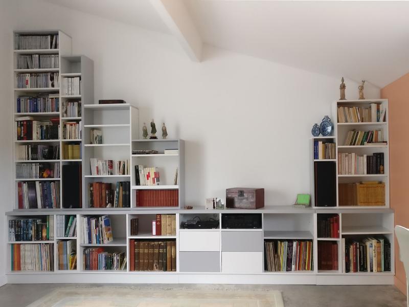 meuble hauteur variable sur mesure
