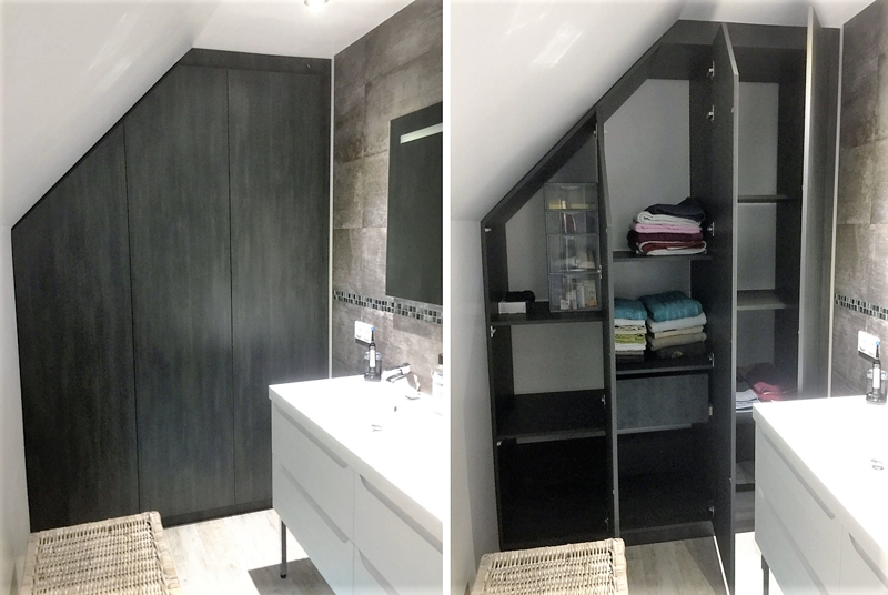 armoire salle de bain sur mesure