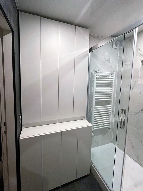 rangement sur mesure salle de bain
