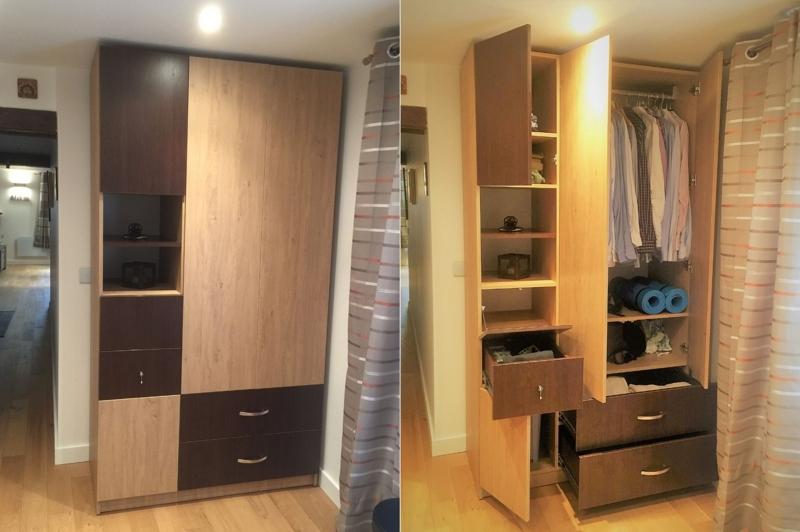 armoire chambre sur mesure