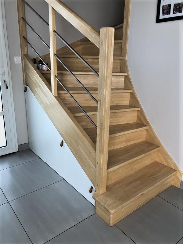 aménagement sous escalier sur mesure
