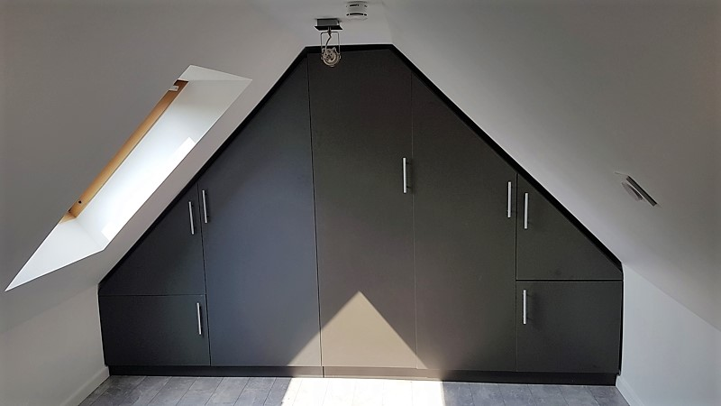 armoire mansardée sur mesure