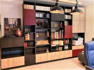 bibliothèque à hauteur variable