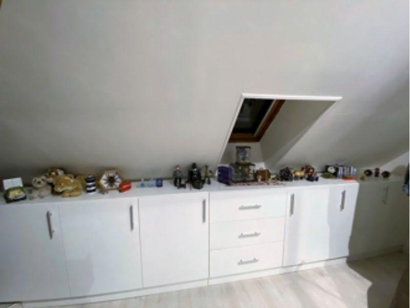 meuble bas blanc sur mesure