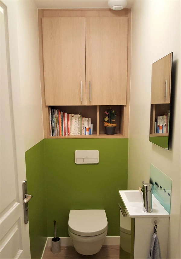 meuble salle d'eau sur mesure