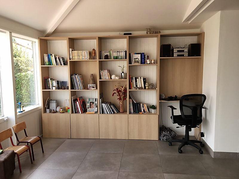 Bibliothèque aménagement bureau