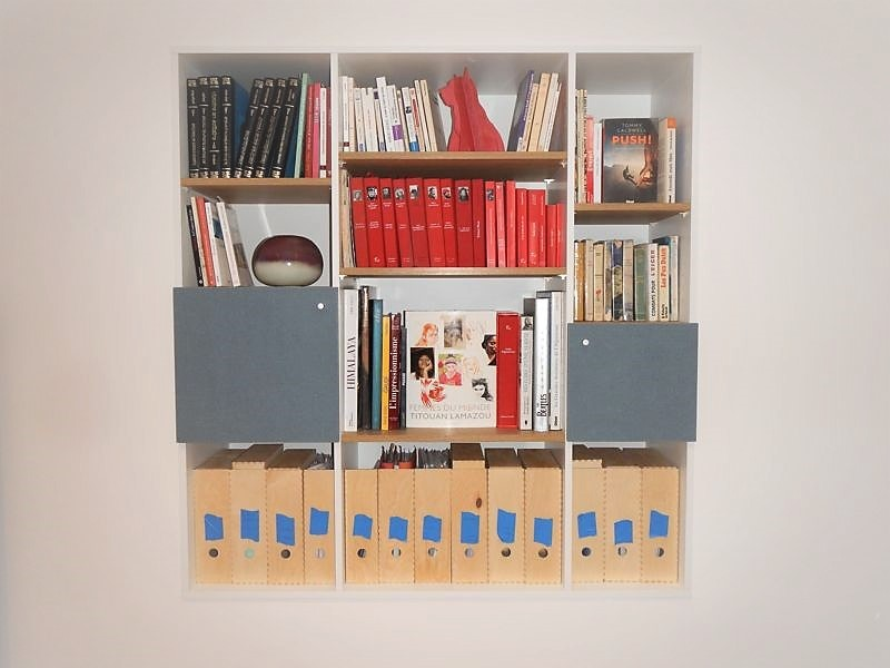 Bibliothèque niche sur mesure