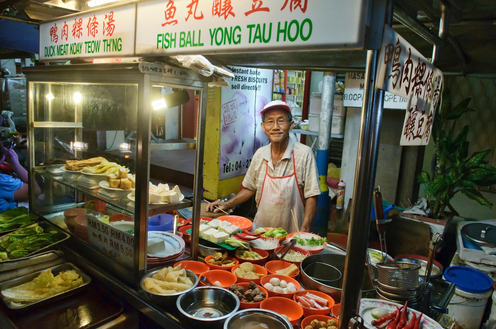 Penang's Duck Meat Koay Teow Th'ng and Fish Ball Yong Tau Hoo