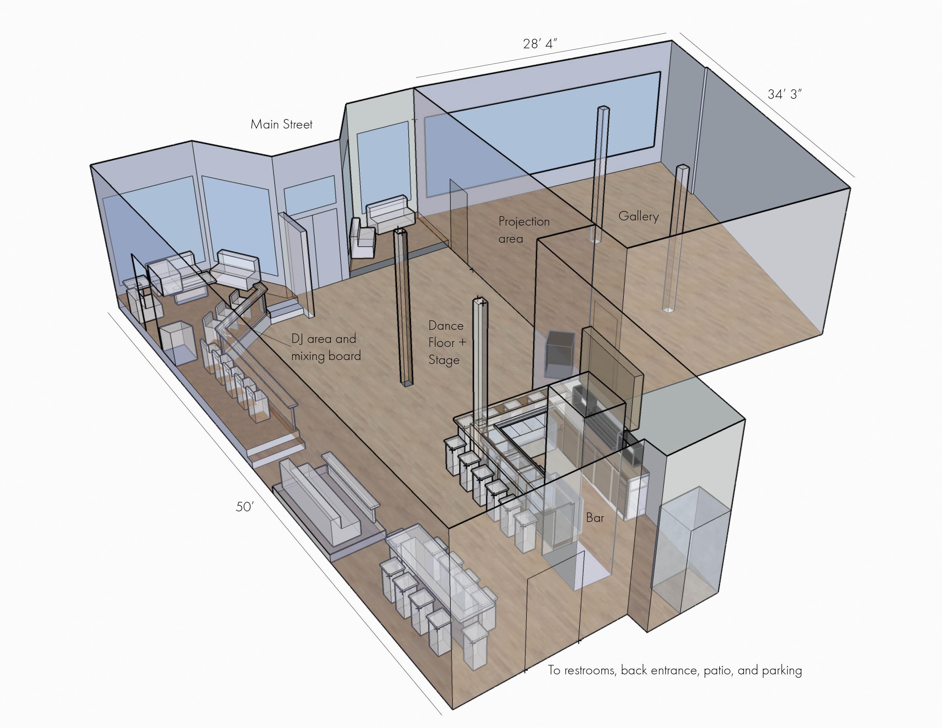 Venue floor plan