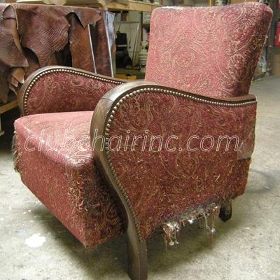 reupholstery repair