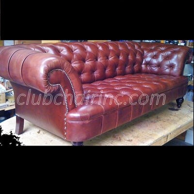 LEATHER SOFAS AND OTTOMANS