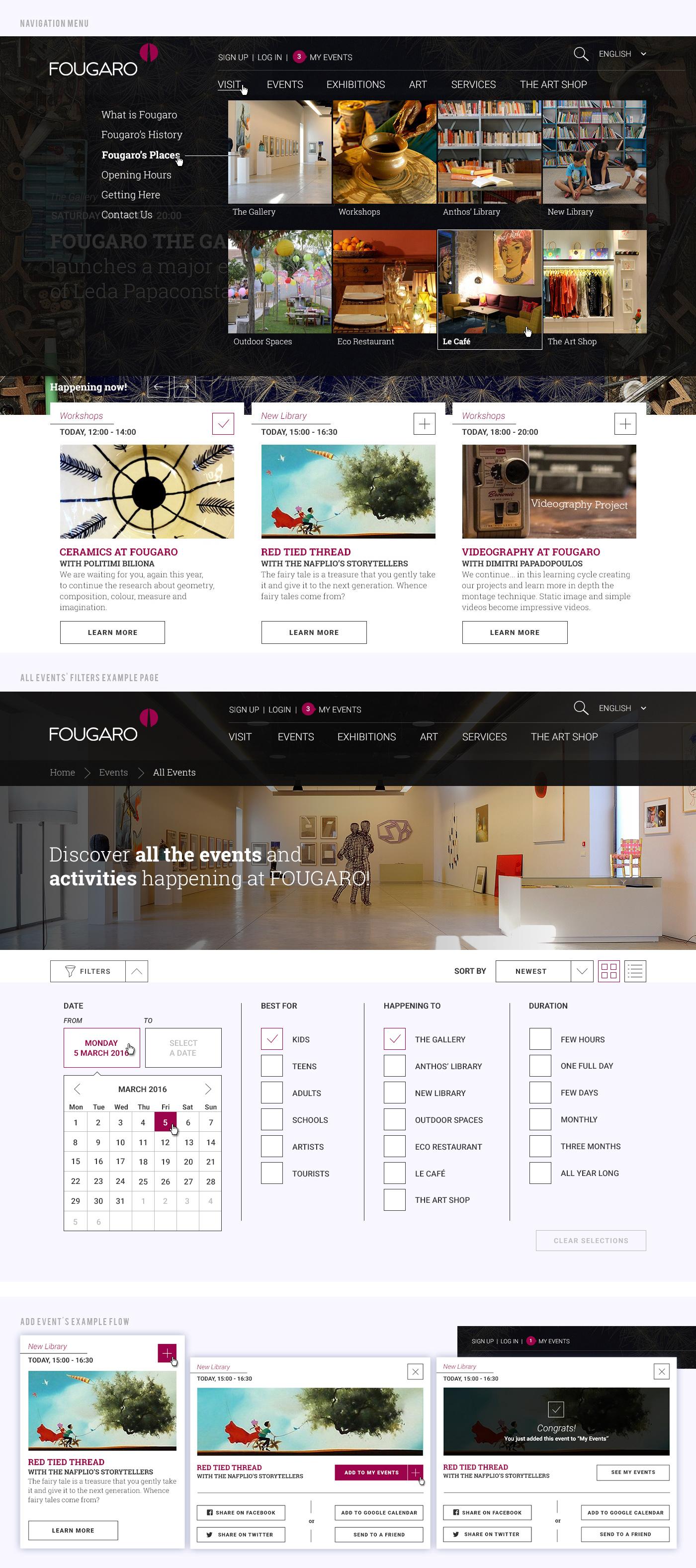 Fougaro Desktop Details