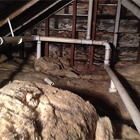 Old Attic Insulation