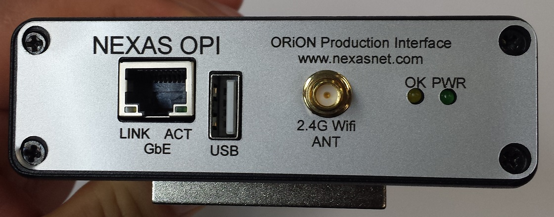 ORiON Production Interface