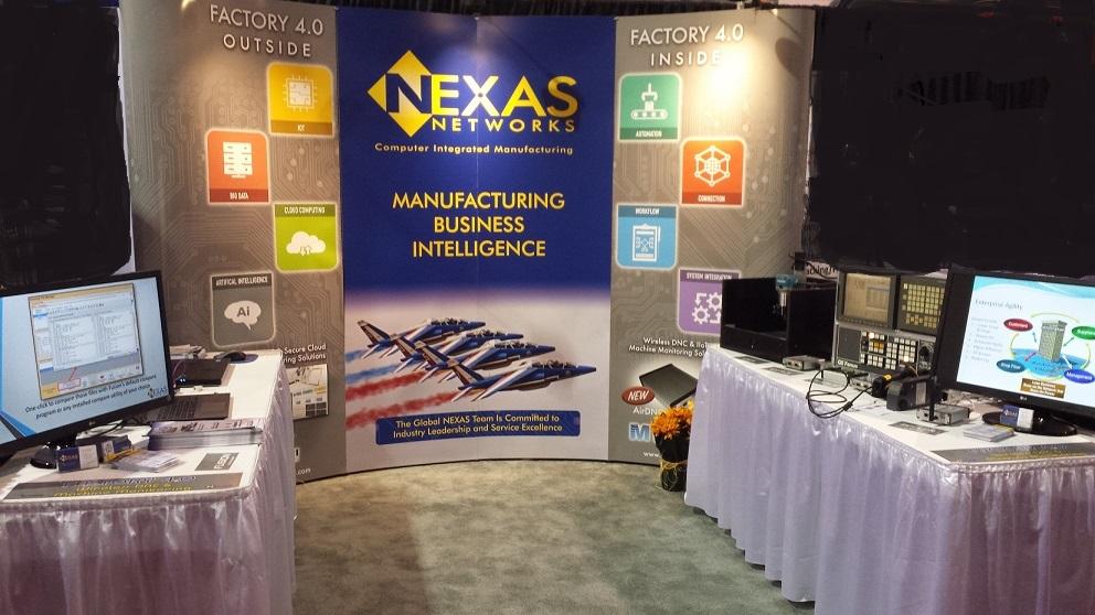2017 CMTS Trade Show - Nexas Booth