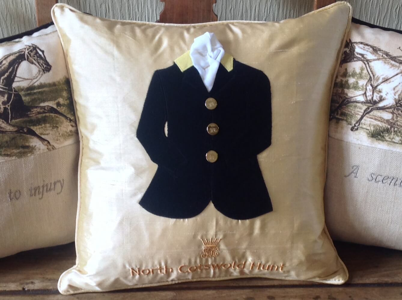 Winning Memories Hunt Coat Cushions