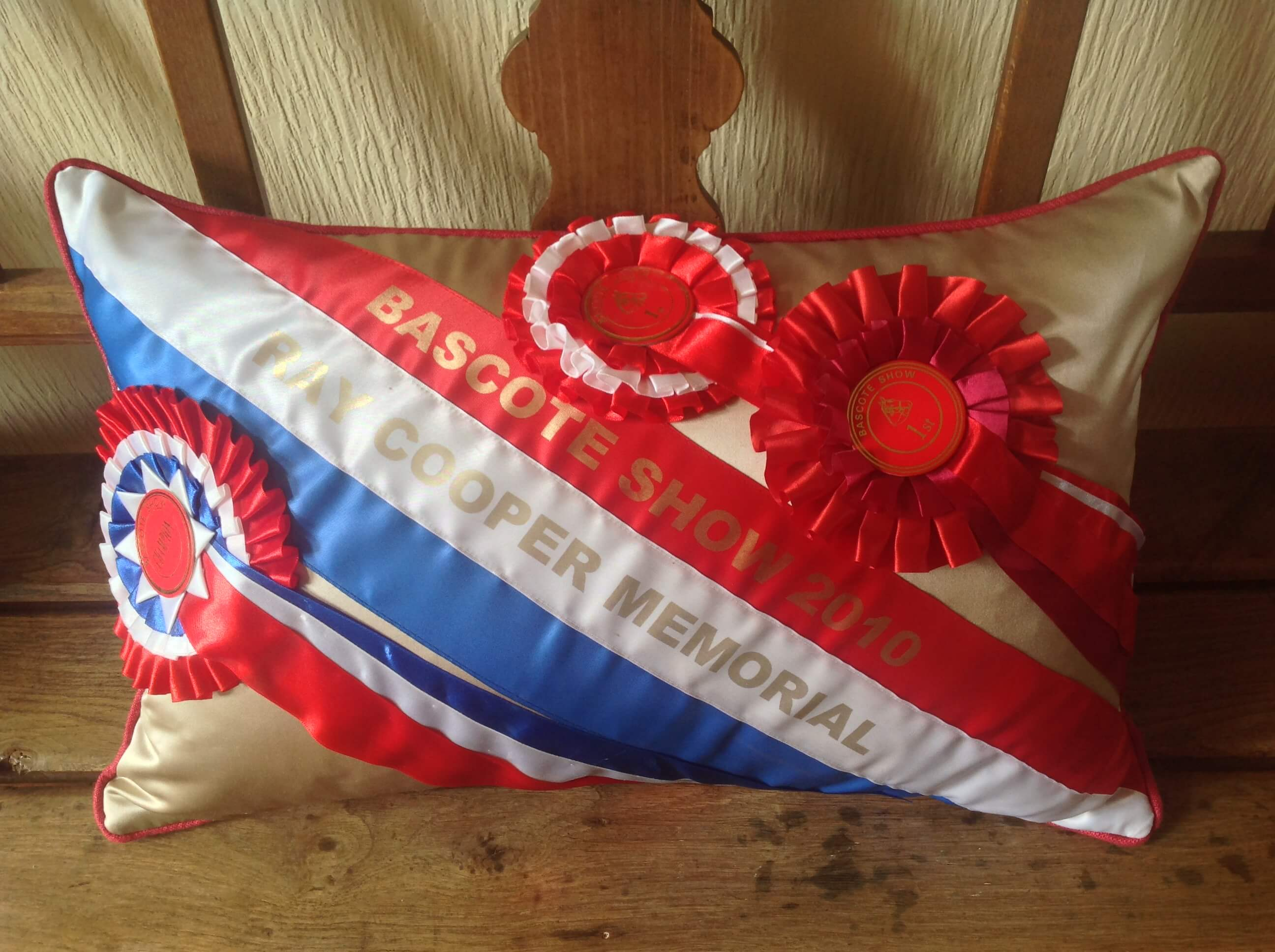 Winning Memories Rosette Cushions