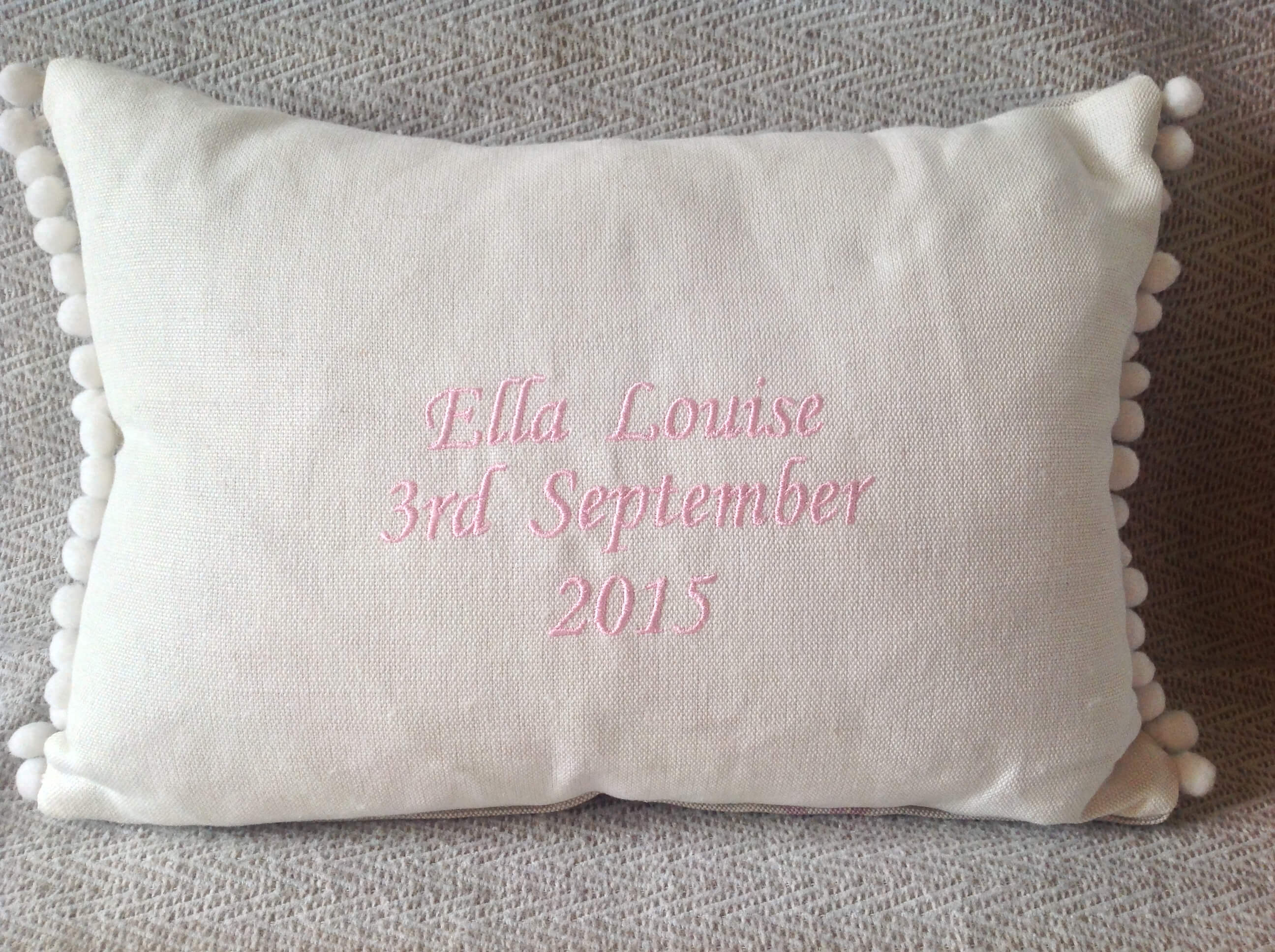 Winning Memories Christening Cushions
