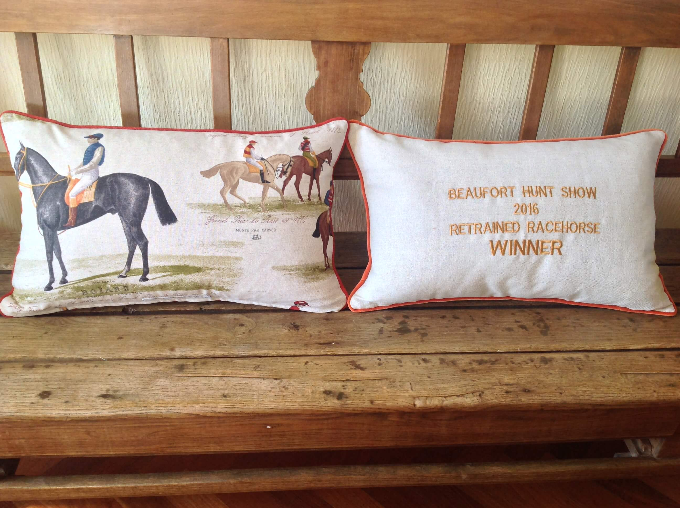 Winning Memories Competition Cushions