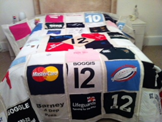 Winning Memories Bedspreads made from Anything!