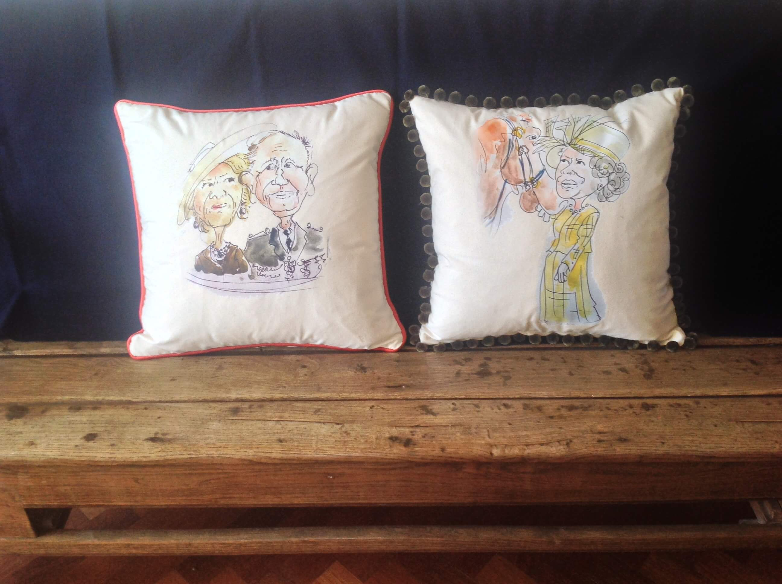Winning Memories Caricature Cushions
