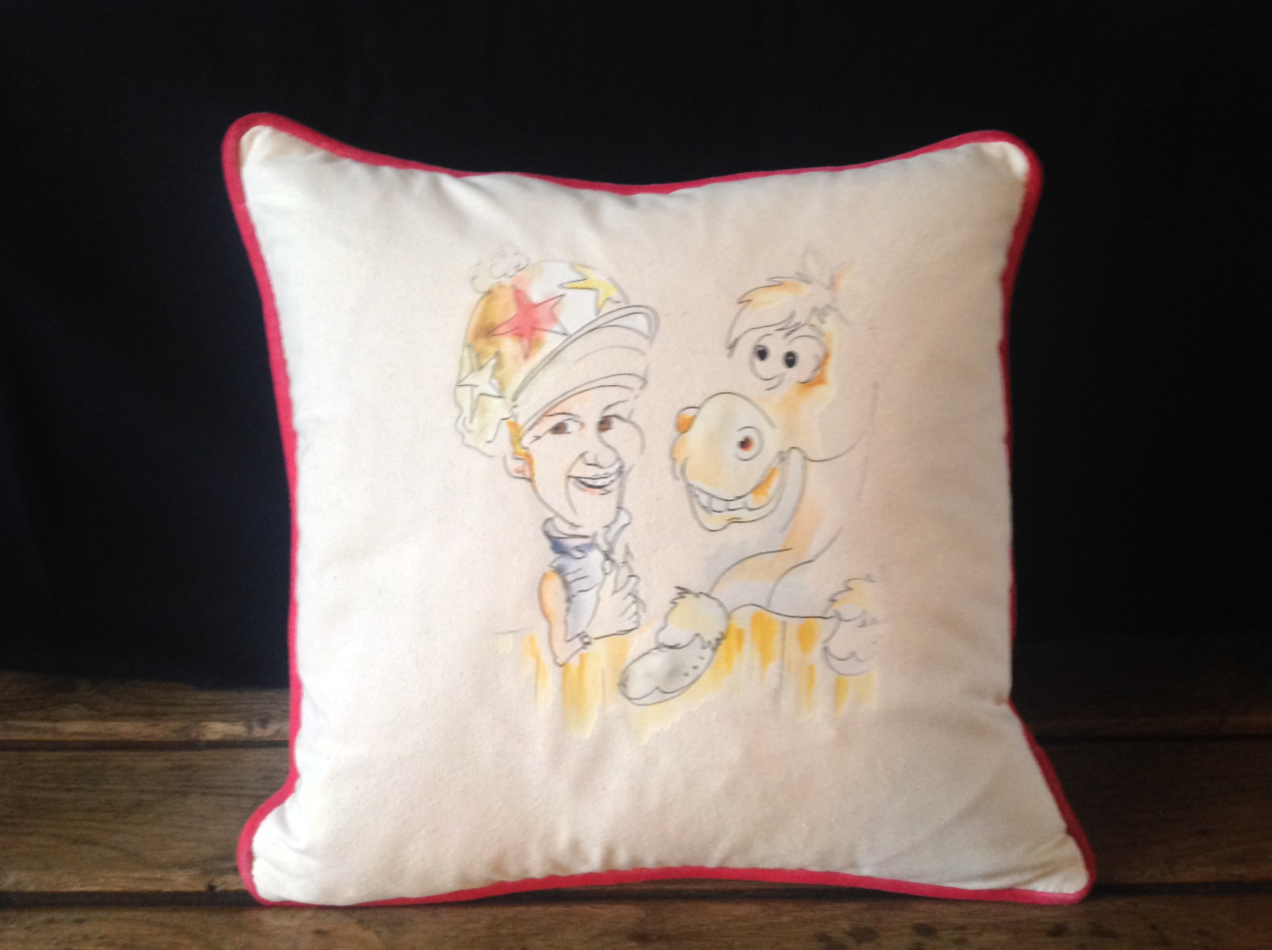 Winning Memories Hunt Cushion