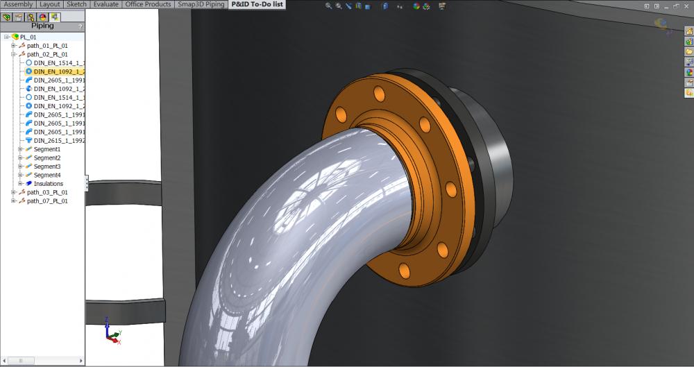 Smap3D Standard Parts