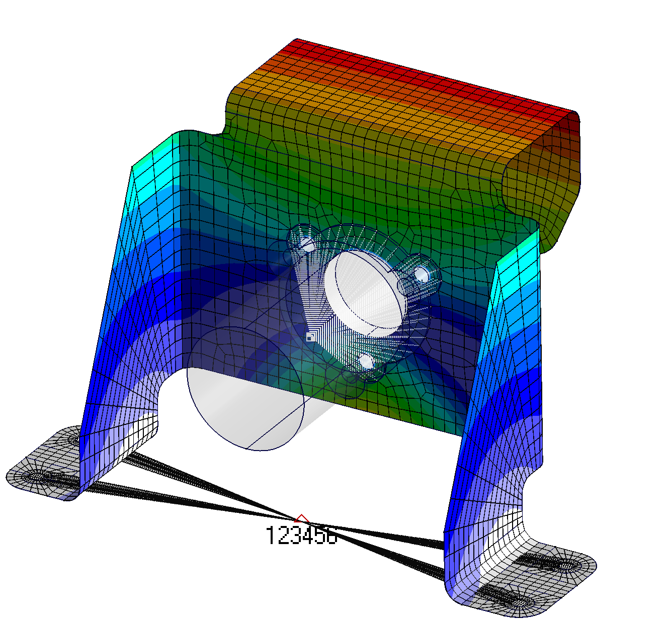 FEMAP with NX Nastran: Dynamic Response