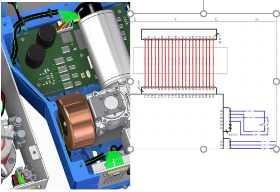 Solid Edge Electrical Проектирование электропроводки