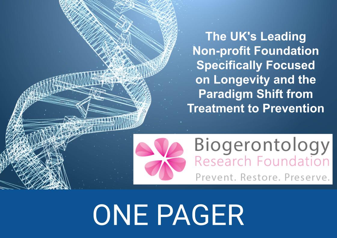 Biogerontology - Research Foundation