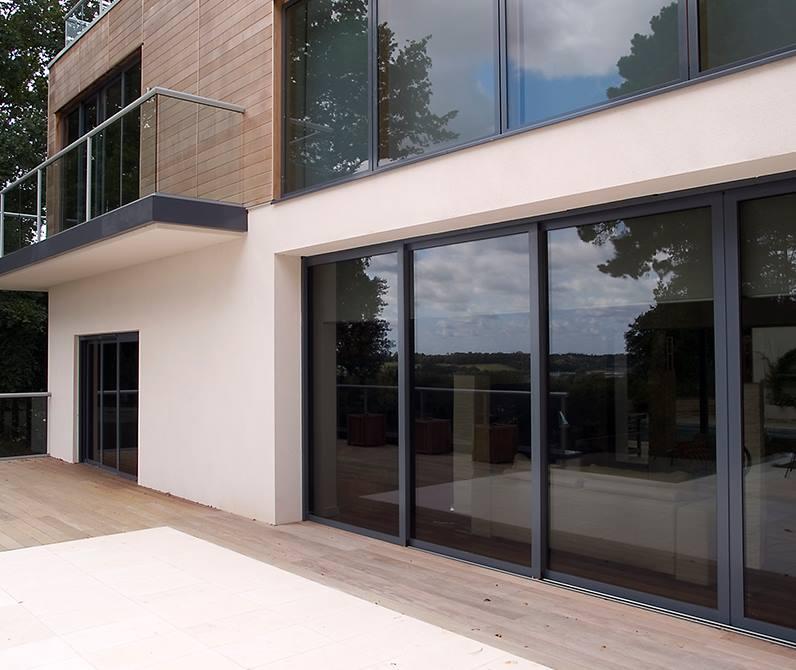Sunflex Sliding Door ... & Sunflex Aluminium Sliding and Bi Folding Doors | KB Glass