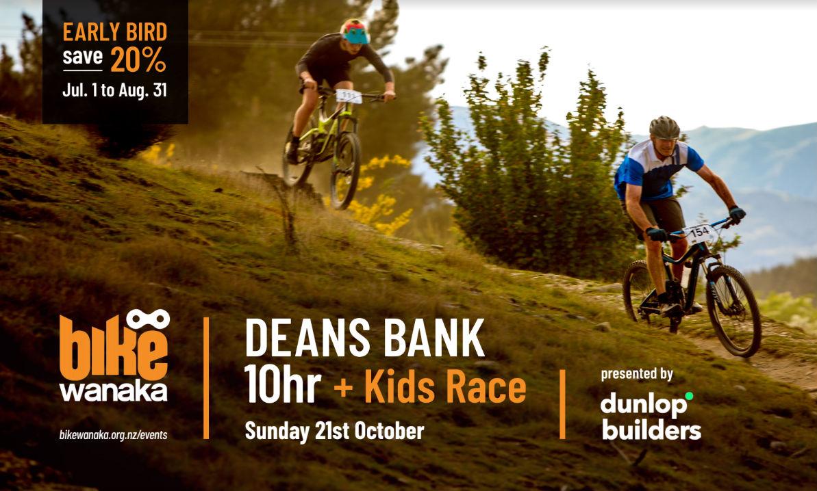 Bike Wanaka 10hr + kids race presented by Dunlop Builders