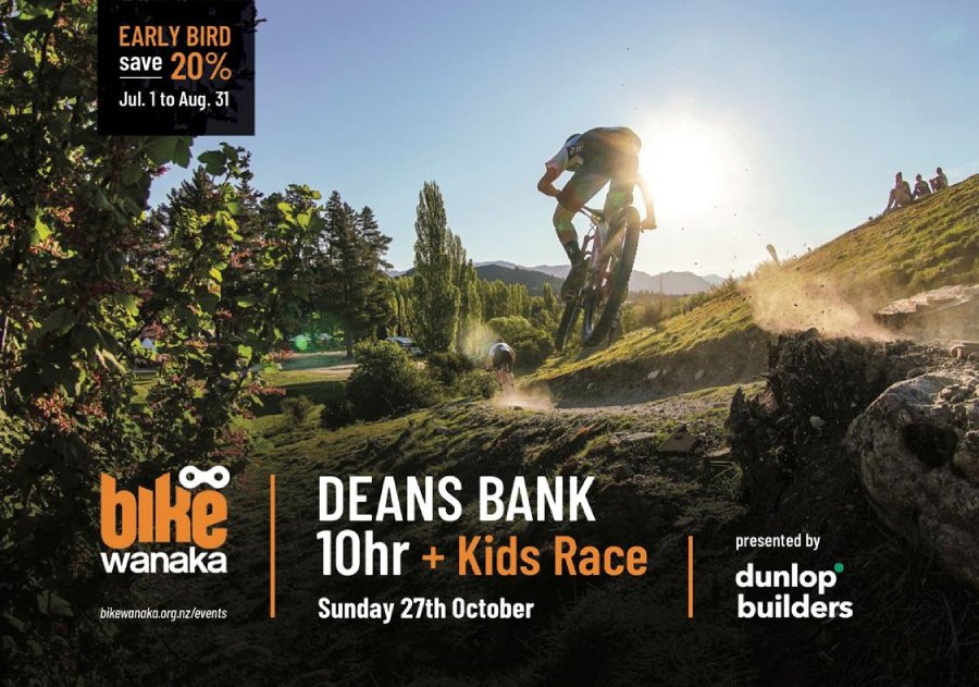 The Dunlop Builder's Bike Wanaka 10hr