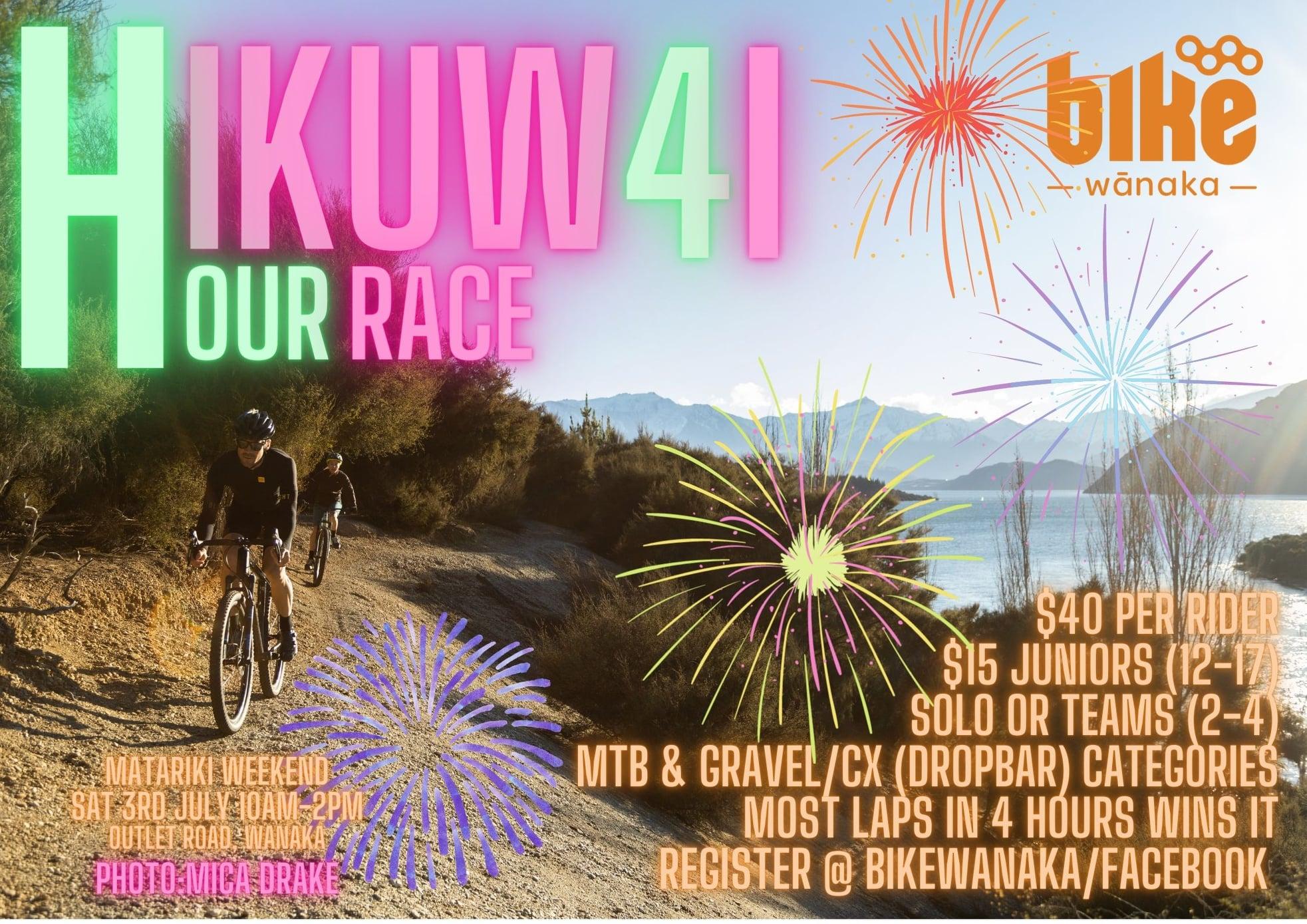 Hikuwai 4 Hour Race - POSTPONED