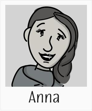 Cartoon of Anna