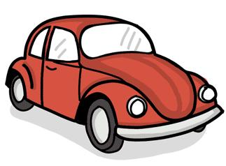 A VW beetle car