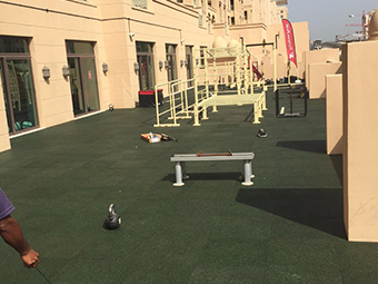 FitnessFirst outdoor Dubai UAE Project Photo
