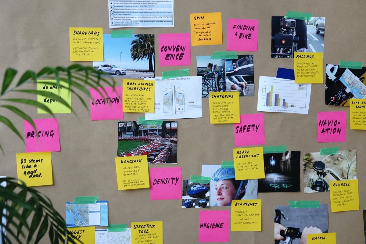From A to B using Design and innovation workshops inspired by Google Sprint