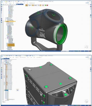 Усовершенствование создание массивов solid edge st9