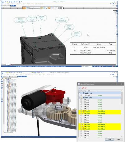 Усовершенствованное управление сборками solid edge st9