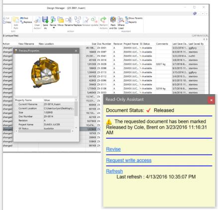 Встроенное управление данными в solid edge st9